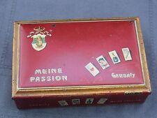 Alte Blechdose Garbaty Berlin-Pankow Meine Passion 50 Zigaretten Gold ca.um 1910