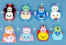 50 Pcs tsum Mickey Cartoon Soft Jewelry Making Phone Case DIY Deco Flatbacks