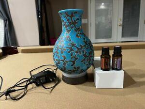 NEW OIL LIFE INSPIRED BLUE Ceramic Diffuser