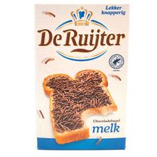 DE RUIJTER Milchschokostreusel 390g Streusel 'Hagelslag Melk' aus Holland