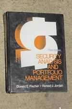 Security analysis and portfolio management by Donald E. Fischer and Ronald J. Jo