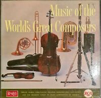 Various - MUSIC OF THE WORLD'S GREAT COMPOSERS -12 x LP Box Set Classical #35