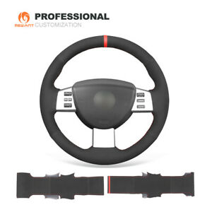 MEWANT Suede Car Steering Wheel Cover Wrap for Nissan Altima Maxima Quest Murano