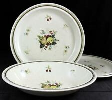 Royal Doulton CORNWALL 3 Piece Assortment Double Green Line LS1015 GREAT COND
