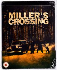 MILLER'S CROSSING BLU-RAY STEELBOOK NEU & OVP SEALED MIT DEUTSCHEM TON