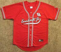 Dale Earnhardt Jr Sz L baseball jersey NASCAR AUTHENTIC #8 Track CHASE Budweiser