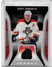 GARY ROBERTS 2006-07 SP GAME USED EDITION GAME USED 2 COLOR JERSEY