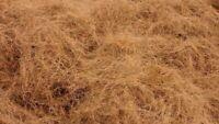 Clean Coconut Fiber coir For upholstery garden soil pets bird nests crafts