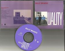 BILLY BRAGG w/ JOHNNY MARR of the SMITHS Sexuality PROMO DJ CD Single 1991 USA