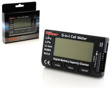 Tenergy 01444 5-in-1 Intelligent Cell Meter Battery Checker ESC Servo PPM Tester