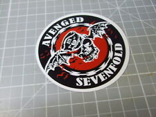 AVENGED SEVENFOLD Sticker/ Decal ROCK Stickers Band NEW NOT ORIGINAL