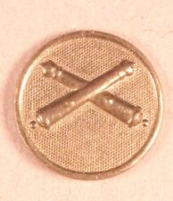 Army Enlisted Collar Pin: Field Artillery (short cannons) - Wwi/1920's era