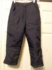 L.L. BEAN SKI/SNOWBOARD INSULATED PANTS YOUTH 8 BLACK