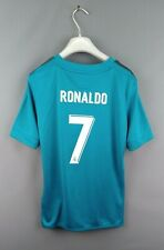 Ronaldo Real Madrid kids jersey 11-12 years 2017 2018 third shirt B31079 ig93
