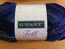 x1  Sundance Frill Ruffle Yarn  #6465 Blue/Teal