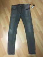 NWD MENS Diesel SLEENKER STRETCH Denim 0676P GREY Slim W30 L31 H5.5 RRP£150
