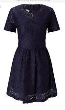 Baum Und Pferdgarten Alaina Flower Dress Size 12, Blue, Rrp £189
