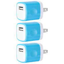 3x USB Wall Charger Power Adapter AC Home US Plug FOR iPhone 6 7 8 X Samsung Lg