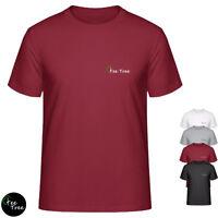 Plain Color simple cotton blend Tee Black/White/Maroon/Gray unisex T-Shirt
