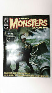 FAMOUS MONSTERS OF FILMLAND #71  RETRO - Fascimile Edition   / 2011 Monsters Ink