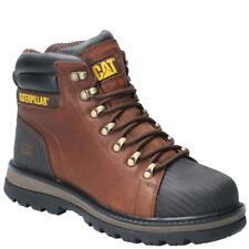 Caterpillar CAT Foxfield S3 brown leather steel toe-cap/midsole safety work boot