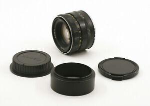 Serviced Zenitar-M 50mm F1.7 Portrait Prime Lens For Canon EF Mount!