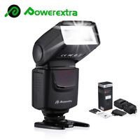 Camera Flash Light Speedlite For Canon EOS Rebel 5D Mark III & Nikon Sony DSLR