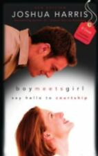BOY MEETS GIRL by Joshua Harris FREE SHIPPING paperback book Christian dating