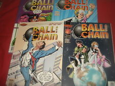 BALL AND CHAIN  #1-4   Homage Comics 1999 NM
