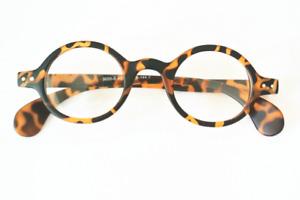 Round Eyeglass Frames Glasses Vintage Eyewears Rx Fashion Acetate Mens Womens