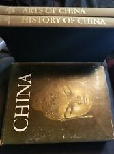 The Horizon Book of the Arts of China & History of China HC 2 BOOK set
