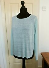 Eileen Fisher Linen Jumper Top size XS fit 12 to 14_ rrp £234 when new