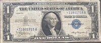 USA 1 Dollar 1935 Silver Certificate One Banknote STAR NOTE Schein #21992