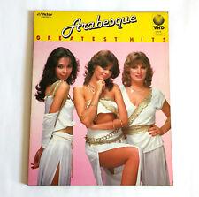 ARABESQUE Greatest Hits JAPAN VHD Victor Video Disc VHM-58015 w/Insert Sandra