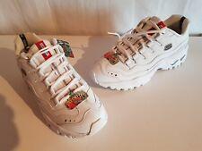 Skechers Herren Leder Sneaker Sportschuhe Farbe weiß Größe 44 NEU