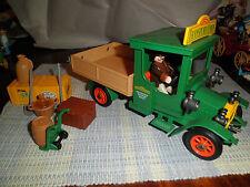Playmobil 5640 Victorian Mansion Transport Green Truck 5300 Mansion add-on