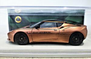 1/43 Spark 2010 Lotus Evora Hybrid in Copper. Mint, boxed. S2207