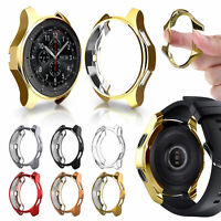For Samsung Galaxy Watch Active2 42mm Plated TPU Screen Protective Case Cover