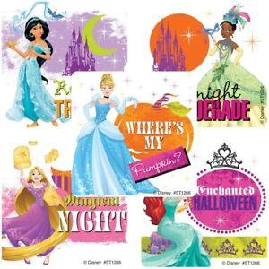 25 Disney Princess Halloween Stickers Party Favors Belle Ariel Cinderella Belle