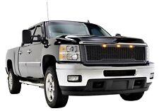 2011 2012 2013 2014 Silverado 2500 3500 HD Raptor Style Grille Charcoal Gray