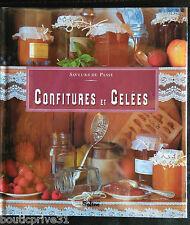 Livre de cuisine  neuf sous blister-  Confitures et gelées