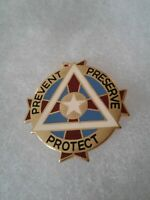 Authentic US Army Dental Ft Bliss DENTAC DI DUI Crest Insignia 22M