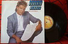 Latin Salsa ROBERTO BLADES *Haciendo Musica* RARE 1989 SPAIN LP ON BAT DISCOS **