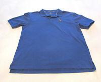 Disney Parks Men's Blue Polo Golf Pique Shirt Short Sleeve Mickey Mouse Logo M