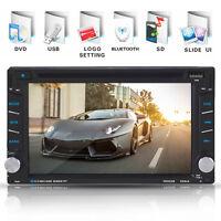 "6.2"" 2 Din Bluetooth HD Car DVD/USB Multimedia Player GPS Navigation FM/FM Radio"
