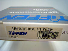 NUEVO Tiffen Serie 9 Cristal Redondo Coral 1/8 Filtro 82.5mm
