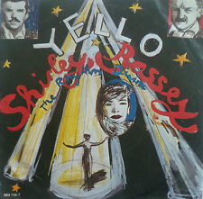 "7"" 1987 YELLO & SHIRLEY BASSEY The Rhythm Divine MINT-?"