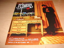 BRANDON FLOWERS - KILLERS - Flamingo !!!!!!!!!!FRENCH PRESS ADVERT