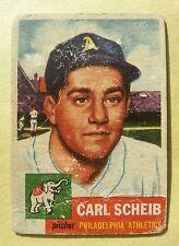 Carl Scheib 1953 Topps 57  Philadelphia Athletics FG HS