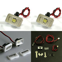LED Side Marker Turn Signal Lights Lamp Set for 1/14 TAMIYA Tractor RC Car Truck
